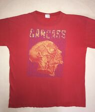 "CARCASS 1992 ""On Tour"" Rare Vintage T-Shirt Red XL"