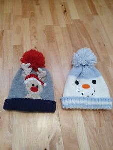 Lovely Mothercare Bobble Hat Set 6-12 Months