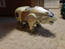 Power Rangers Wild Force White Polar Bear Zord