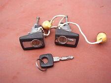 Genuine Mercedes Benz W124 Door Locks Set with 1 Key Used Nice