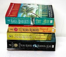 Nora Roberts Lot of 4 books: The Reef, Northern Lights, Dance ot the Gods & more