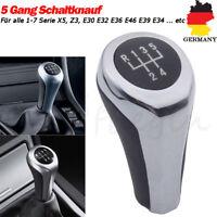 5 Gang Schaltknauf Schaltknopf Getriebe für BMW X5 Z3 E30 E32 E36 E46 E39 E34 DE