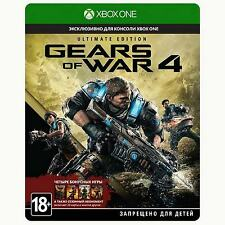 XB1 Gears of War 4 Ultimate Edition Xbox One game new sealed steel box SteelBook