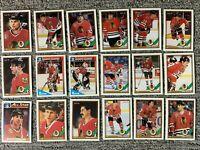 Chicago Blackhawks Hockey Card Lot *Team Sets* Rookies *Stars* 150 Different*