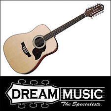 Crafter D8-12EQ 12 String Spruce Top Mahogany B/S Nat Gloss Acoustic RRP$1199
