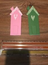 "Scrapbooking Die Cuts House / Home / New Home Shape "" X 2 Lot 4"