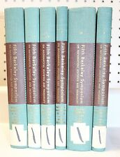 Proceedings of the Fifth Berkeley Symposium 1967 UC Berkeley Vol 1-5