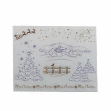 Winter Transparent Clear Silicone Stamps for DIY scrapbooking/photo album Decors