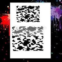 Camo Digital Set 01 Airbrush Stencil,Hunting,Camouflage
