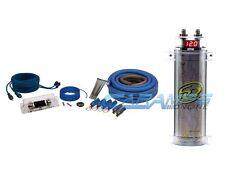 stinger car audio amplifier kit stinger sound quest 0 awg gauge car amp installation kit w 2 farad capacitor cap