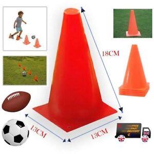16 x 18CM Tall Traffic Marking Cones Football Training Practice Field Boundary