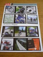 Aprilia Pegaso 650 Moto folleto 1998 Jm