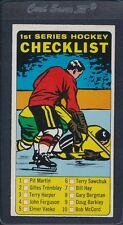 1964/65 Topps #054 1st Series Checklist EX *98