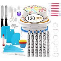 120 PCS Set Cake Decorating Kit Supplies Pieces Kit Baking Tools