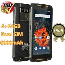 "Cubot King Kong3 4G Handy 5.5"" 4+64GB 8core Smartphone 2 SIM 6000mAh Wasserdicht"