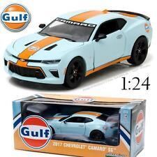 GREENLIGHT 18233 2017 CHEVROLET CAMARO SS GULF OIL RACING DIECAST CAR 1:24 NEW!!