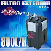 FILTROS EXTERIOR PARA ACUARIO BOYU 800L/H FILTRO DE ACUARIO EXTERIOR PECERA PECE