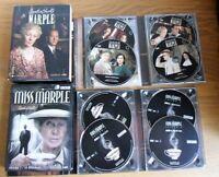 """8 DVD """"MISS MARPLE"""" saison 1 et saison 3"""