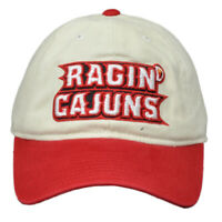 NCAA Louisiana Ragin Cajuns EW59Z Adjustable Slouch Relaxed Hat Cap Curved Bill
