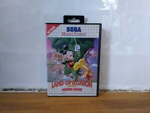 Land of Illusion starring Mickey Mouse - Sega Master System - Tested