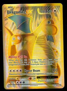 Pokemon DRAGONITE EX 106/108 - XY Evolutions - ULTRA RARE FULL ART - MINT