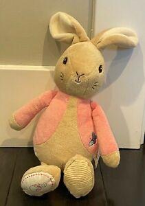 Peter Rabbit - Floppy Bunny - Stuffed Animal Pink