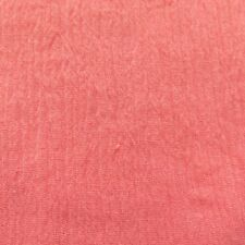 """Cotton Gauze Crinkled Light Weight garment CORAL  dresses fabric yard 50"""" wide"""