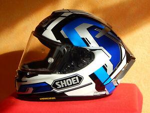 Shoei X-Spirit 3 Brink Motorcycle Helmet L Blue (TC-2) - Größe L