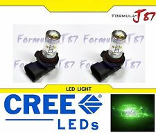 CREE LED 30W 9045 GREEN TWO BULB FOG LIGHT REPLACEMENT QUALITY JDM LAMP COLOR