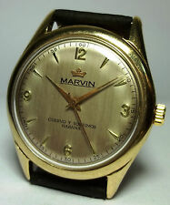 CUERVO Y SOBRINOS HABANA BY MARVIN AUTOMATIC F690 MAN'S VINTAGE SWISS WATCH