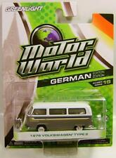 1976 '76 VOLKSWAGEN TYPE 2 VAN BUS MOTOR WORLD 16 GLEENLIGHT GL DIECAST 2016