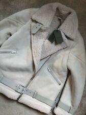 """SAINTS Aires Blanco """"Hawley ALL"""" Chaqueta de abrigo de Vellón de gran tamaño-Grande-Nuevo"""