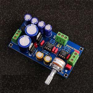 Low Noise OP AMP Preamplifier Board 5532 input Preamp Base on Music Fidelity A1