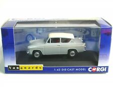 Corgi Va00131 Ford Anglia 1200 Plat Grey & White