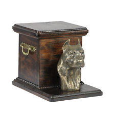 Pet cremation Urn American Staffordshire Terrier- Memorial urn for Dog's ashes 7