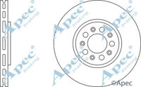 DSK957 GENUINE APEC FRONT BRAKE DISCS (PAIR) FOR AUDI A3