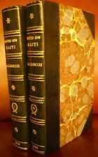 Notes on Haiti...[2 Volumes] by Charles Mackenzie, 1st Edition, 1830