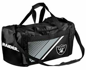 Oakland Raiders NFL Gym Travel Luggage Medium Duffel Bag