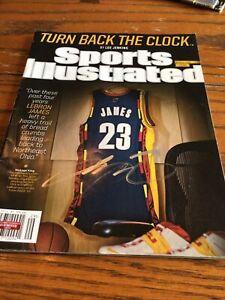 Lebron James Autographed Signed 2014 Sports Illustrated W/ COA