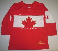 Nike IIHF Canada National Ice Hockey Team Olympics Sewn Womens Jersey Small
