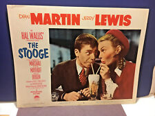 JERRY LEWIS, DEAN MARTIN 1952 PARAMOUNT PICTURE THE STOOGE 11X14 LOBBY CARD, EX!