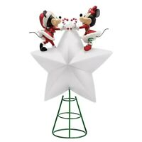 Disney Mickey and Minnie Mouse Light-Up Holiday Tree Topper