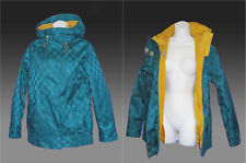 New NIKE 6.0 Womens Ladies Tervist Snow Boarding Parka Jacket Turquoise XS