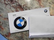 BMW Emblem Plakette 65 mm geprägt Original