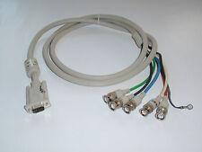 PHILIPS SECURA VIDEO CABLE CAVO VGA-5 BNC Parts P/N 3138-118-72701 COMPOSITO
