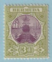 BERMUDA 30  MINT HINGED OG * NO FAULTS EXTRA FINE!