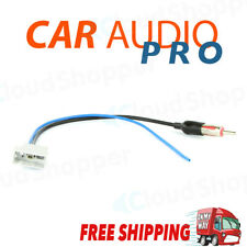 Antenna adaptor adapter male DIN converter plug Aerial lead cable for Nissan