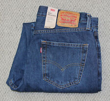 NWT • Levi's 550 Relaxed MEN'S JEANS • Medium Wash • Tapered Leg • 100% cotton