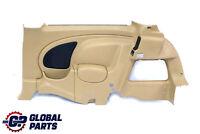 *BMW Mini Cooper R50 R53 Rear Right O/S Lateral Trim Side Panel Cordoba Beige