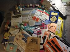 LARGE MIXED LOT OF VINTAGE SEWING SUPPLIES NEW & USED